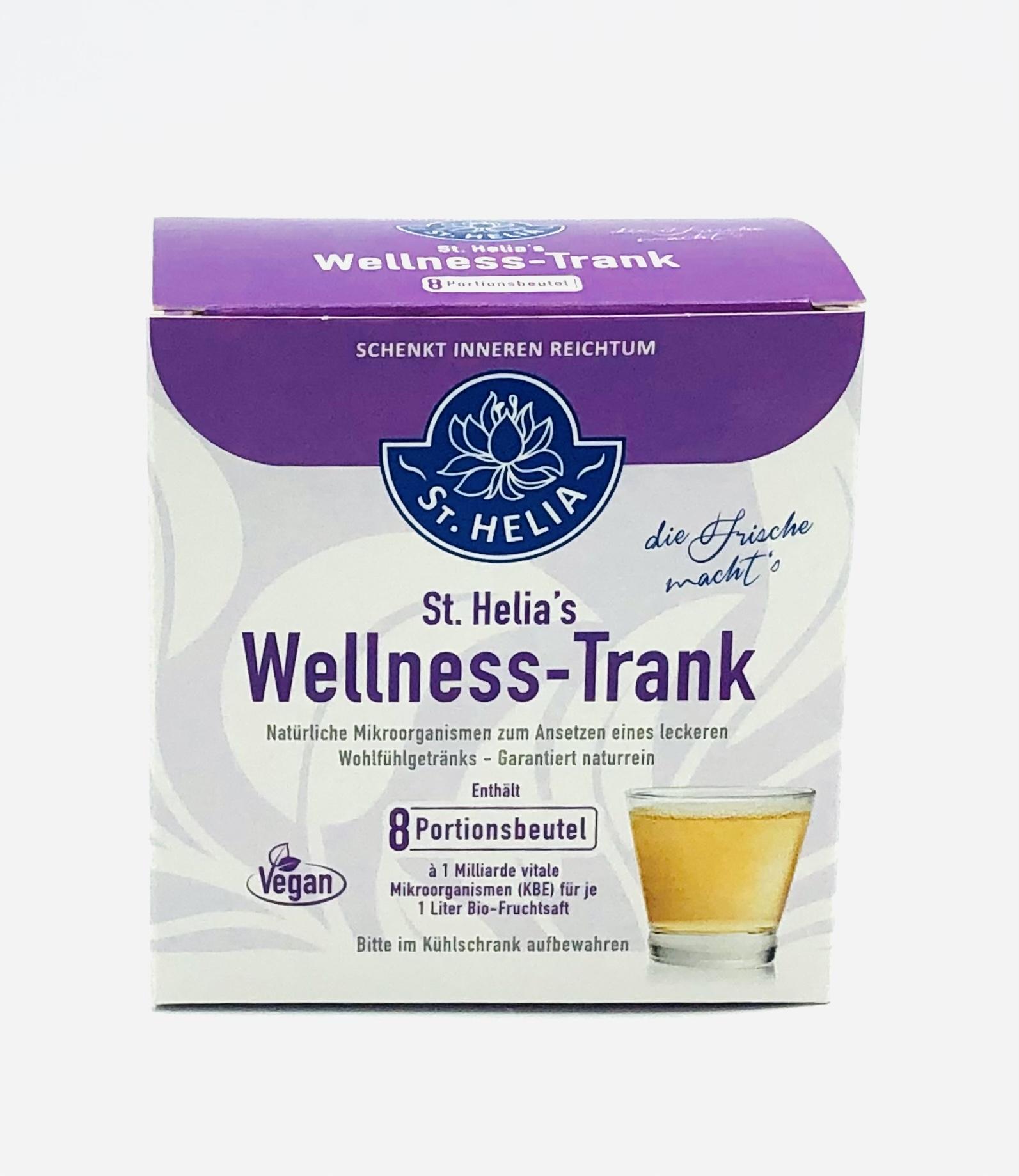 St. Helia Wellness-Trank, 8 Portionstütchen für 2 Monate